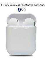 Недорогие -LITBest i11 TWS True Беспроводные наушники Беспроводное Мобильный телефон Bluetooth 5.0 С микрофоном