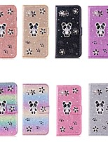 cheap -Case For Apple iPhone 11 / iPhone 11 Pro / iPhone 11 Pro Max Wallet / Card Holder / Shockproof Full Body Cases Panda PU Leather