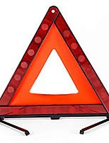 Недорогие -практичный знак остановки автомобиля треугольный дорожный штатив аварийный предупреждающий знак складной светоотражающий дорожное освещение