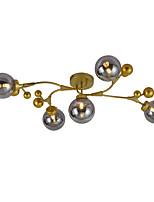 Недорогие -JSGYlights 5-Light промышленные Потолочные светильники Рассеянное освещение Окрашенные отделки Металл Стекло Новый дизайн 110-120Вольт / 220-240Вольт