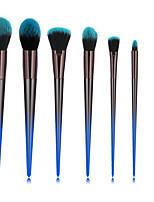 Недорогие -профессиональный Кисти для макияжа 7pcs Мягкость Новый дизайн Закрытая чашечка Градиент цвета удобный Пластик за