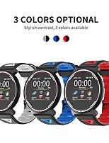 Недорогие -Смарт Часы Цифровой Современный Спортивные силиконовый 30 m Защита от влаги Пульсомер Bluetooth Цифровой На каждый день На открытом воздухе - Черный / Белый Черный / Синий Черный / Красный