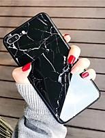 Недорогие -Кейс для Назначение SSamsung Galaxy S9 / S9 Plus / S8 Plus Зеркальная поверхность / Ультратонкий / С узором Кейс на заднюю панель Мрамор ТПУ