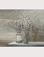 Недорогие -С картинкой Отпечатки на холсте - Абстракция Натюрморт Modern Репродукции