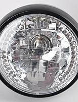 Недорогие -7 дюймов 35 Вт h4 мотоцикл фары указателя поворота галогеновый передний свет для Harley BWM Suzuki Kawasaki