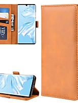 Недорогие -для huawei huawei p40 / huawei p40 pro / huawei p40 pro кошелек подставка кожаный чехол для мобильного телефона с кошельком&усилитель; держатель&усилитель; слоты для карт