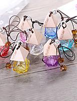 Недорогие -автомобильный флакон для духов, освежитель воздуха, автомобильная укладка подвесной стеклянный флакон для духов (пустая бутылка без эфирного масла)
