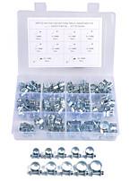 Недорогие -84 шт. / Компл. 7-18 мм 10 размеров мини трубный хомут для топливного хомута