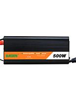 Недорогие -Suredom автомобильный инвертор с ups 500 Вт изменить синусоидальный высокой частоты и мощности инвертор постоянного тока dc12v / 24v до ac110v / 220v