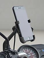 Недорогие -держатель мобильного телефона мотоцикла алюминиевый сплав водонепроницаемый qc3.0 быстрой зарядки многофункциональный держатель зеркала заднего вида моделичерный