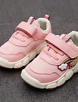 Недорогие -Мальчики Удобная обувь Полиуретан Спортивная обувь Маленькие дети (4-7 лет) Беговая обувь Красный / Розовый Весна