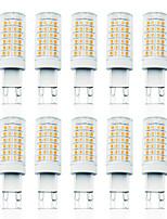 Недорогие -LOENDE 10 шт. 7 W LED лампы типа Корн Двухштырьковые LED лампы 800 lm G9 T 78 Светодиодные бусины SMD 2835 Диммируемая Тёплый белый Белый 110-130 V 200-240 V