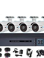 Недорогие -4-канальный AHD коаксиальный аналоговый видеорегистратор мониторинг 1080p инфракрасного ночного видения HD камера 2-мегапиксельная магазин монитор