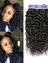 Недорогие -3 Связки Бирманские волосы Волнистые Необработанные натуральные волосы 100% Remy Hair Weave Bundles Человека ткет Волосы Удлинитель Пучок волос 8-28 дюймовый Нейтральный Ткет человеческих волос Sexy