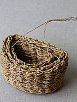 Недорогие -1шт Вазы и корзины Круглые Искуственные цветы Рустикальный Природа