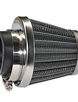 Недорогие -12шт 52мм двухслойная сетка грибов дизайн воздушный фильтр запасные части фильтрации общего применения калибр52мм package12 комплекты
