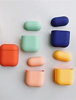 Недорогие -Сумка для наушников Простой стиль Apple Airpods Скретч-доказательство кремнийорганическая резина