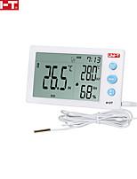 Недорогие -Цифровой термометр Uni-T A12T гигрометр измеритель температуры и влажности будильник метеостанция крытый открытый инструмент