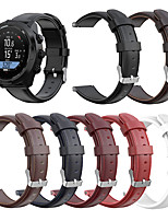 Недорогие -24мм натуральная кожа умный ремешок для часов для спартанцев suunto spartan hr baro / suunto9 / d5i / traverse