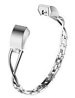 Недорогие -Ремешок для часов для Fitbit Alta Fitbit Дизайн украшения Нержавеющая сталь Повязка на запястье