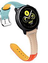 Недорогие -Ремешок для часов для Huawei Watch GT / Watch 2 Pro Huawei Классическая застежка Натуральная кожа Повязка на запястье