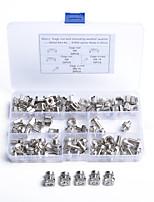 Недорогие -50 шт. / Шт. Профессиональные гайки клетки М6 крепежные винты м6 * 16 модели a1833