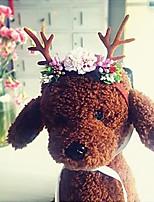Недорогие -домашний головной убор рождества рога домашнего животного декоративная шляпа