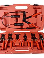 Недорогие -Зажим для шланга зажим плоскогубцы набор поворотный губка плоская угловая полоса автомобильный инструмент modelstube зажим набор