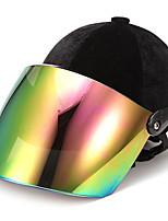 Недорогие -мотоцикл лето бархат безопасности половина шлем верховая езда дышащий