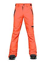 Недорогие -Жен. Лыжные брюки Водонепроницаемость Сохраняет тепло С защитой от ветра Отдых и Туризм Зимние виды спорта Терилен Брюки Нижняя часть Одежда для катания на лыжах