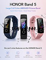 Недорогие -Huawei Honor Band 5 смарт-браслет Bluetooth фитнес-трекер поддержка уведомлять / NFC / монитор сердечного ритма Спорт водонепроницаемый SmartWatch совместимый телефоны Samsung / Iphone / Android