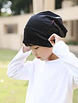 Недорогие -Дети Мальчики Однотонный Головные уборы Черный Один размер