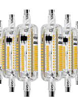 Недорогие -ywxlight&рег; R7S водонепроницаемые светодиодные лампы 3014 SMD светодиодные R7S 78 мм штекер горизонтальный светодиодная лампа прожектор лампочка теплый белый холодный белый натуральный белый