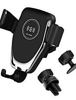 Недорогие -10 Вт ци автомобильное беспроводное зарядное устройство быстрой зарядки смартфон держатель для iphone 8 8 плюс xs samsung s8 s9 s10