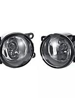Недорогие -Пара автомобилей переднего бампера противотуманные фары с галогенными лампами h11 для Dacia Duster Sandero Logan 2004-2015