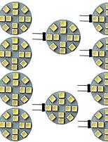 Недорогие -10 шт. 2.5 Вт светодиодные двухконтактные светильники 240 лм g4 g5 12 светодиодные шарики smd 5050 9-30 В