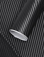 Недорогие -127x30см 3d углеродного волокна виниловая катушка пленки рулона стикер автомобиля украшения интерьера наклейки на автомобиль новый