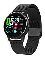 Недорогие -Dt88 Smart Watch BT Поддержка фитнес-трекер уведомлять / пульсометр Спорт из нержавеющей стали SmartWatch совместимые телефоны Iphone / Samsung / Android