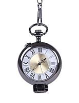 Недорогие -Муж. Карманные часы Кварцевый Старинный Черный Новый дизайн Повседневные часы Крупный циферблат Аналого-цифровые Винтаж - Черный