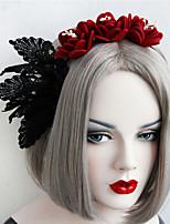 Недорогие -Жен. лакомство Винтаж модный Ткань Железо Хайратники Свадьба Halloween