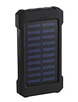 Недорогие -2019 солнечной энергии банк 10000 мАч двойной usb солнечное зарядное устройство внешняя батарея портативное зарядное устройство bateria externa пакет для смартфона