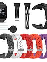 cheap -Watch Band for POLAR M400 Polar Sport Band TPE Wrist Strap