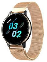 Недорогие -Q20 Smart Watch BT Поддержка фитнес-трекер уведомлять / монитор сердечного ритма Спорт из нержавеющей стали SmartWatch совместимые телефоны Iphone / Samsung / Android