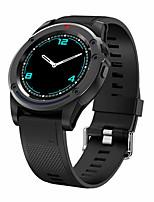 Недорогие -R18 Smart Watch BT Поддержка фитнес-трекер уведомить / SIM-карта / монитор сердечного ритма Спорт водонепроницаемый SmartWatch совместимый Samsung / Android / Iphone