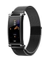 Недорогие -Kupeng F8 Смарт-браслет Bluetooth из нержавеющей стали Фитнес-трекер Поддержка уведомлять / монитор сердечного ритма Спорт водонепроницаемый SmartWatch совместимые телефоны Samsung / Iphone / Android