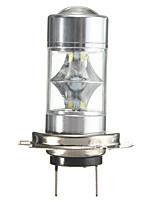 Недорогие -1 шт. H7 2323 противотуманные фары белый высокой мощности светодиодные автомобильные лампы 60 Вт 6000 К 10-30 В