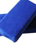 Недорогие -12 шт. Профессиональная ультрамягкая губка из микрофибры для мытья автомобилей