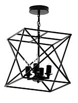Недорогие -4-Light Спутник / геометрический Потолочные светильники Рассеянное освещение Окрашенные отделки Металл Творчество, Новый дизайн 110-120Вольт / 220-240Вольт