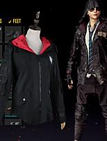 Недорогие -Вдохновлен Поля битвы игрока Косплей Аниме Косплэй костюмы Японский Косплей вершины / дна Пальто Назначение Муж. / Жен.