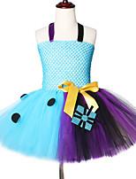 Недорогие -2-12 лет старше кошмара перед рождеством Салли Джек Скеллингтон девушки бальные платья костюм